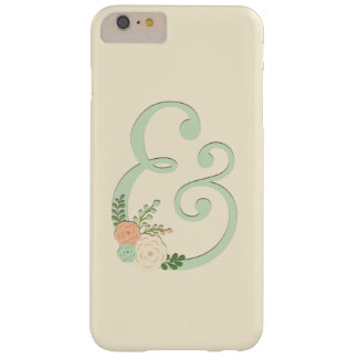 Capa Barely There Para iPhone 6 Plus iPhone 6/6s mais o caso do Ampersand do chique