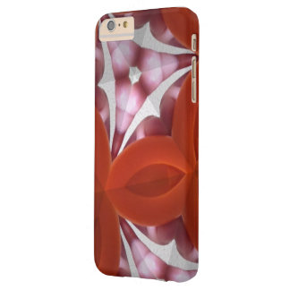 Capa Barely There Para iPhone 6 Plus Kaleidiscope rosa vermelha