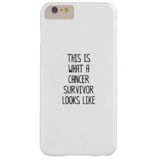 Capa Barely There Para iPhone 6 Plus Luta da consciência do cancer para o cancer
