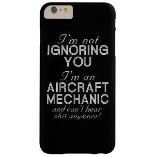 Capa Barely There Para iPhone 6 Plus Mecânico de aviões