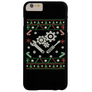 Capa Barely There Para iPhone 6 Plus Mecânico - Feliz Natal
