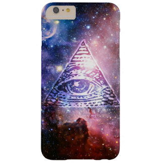 Capa Barely There Para iPhone 6 Plus Nebulosa de Illuminati