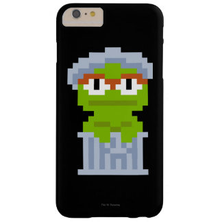 Capa Barely There Para iPhone 6 Plus Oscar a arte do pixel do Grouch