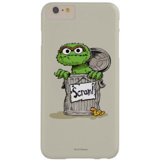 Capa Barely There Para iPhone 6 Plus Oscar que o Grouch Scram