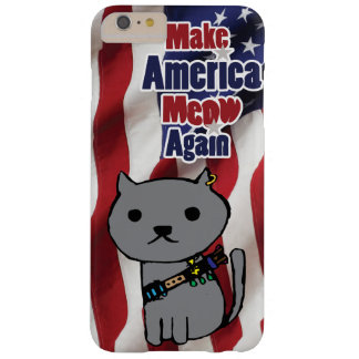 Capa Barely There Para iPhone 6 Plus Propaganda do gatinho