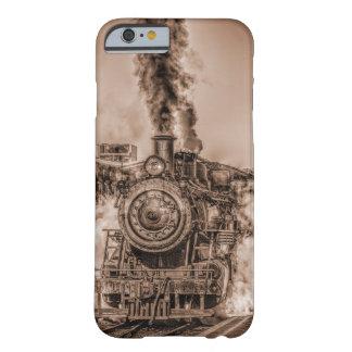 Capa Barely There Para iPhone 6 Punk Antiqued do vapor de Steampunk do trem do