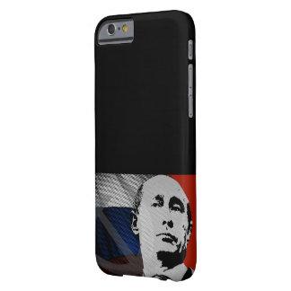Capa Barely There Para iPhone 6 Putin com bandeira do russo