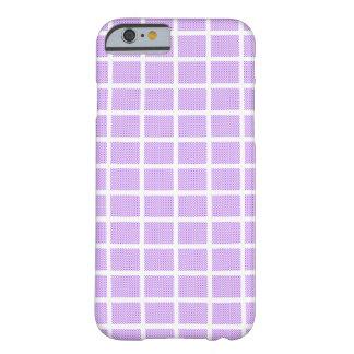 Capa Barely There Para iPhone 6 Quadrados das bolinhas
