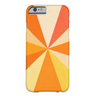 Capa Barely There Para iPhone 6 Raios 60s geométricos Funky modernos do pop art na