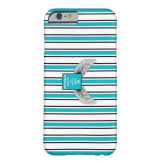 Capa Barely There Para iPhone 6 Retro logo Kciafa and stripes