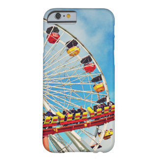 Capa Barely There Para iPhone 6 Roda de ferris do carnaval do divertimento e foto