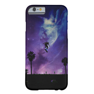 Capa Barely There Para iPhone 6 Skate ao espaço