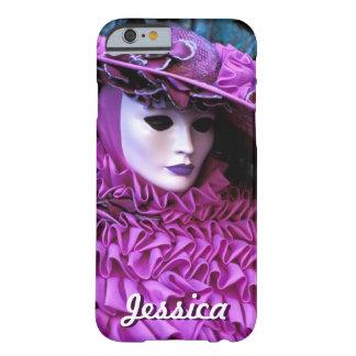 Capa Barely There Para iPhone 6 Traje roxo do carnaval - Veneza, Italia (IT)
