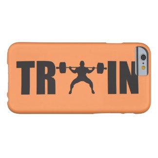 Capa Barely There Para iPhone 6 TREM - motivação do Gym