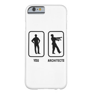 Capa Barely There Para iPhone 6 Um Normal você contra um zombi do arquiteto