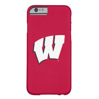 Capa Barely There Para iPhone 6 Universidade de Wisconsin | do logotipo de