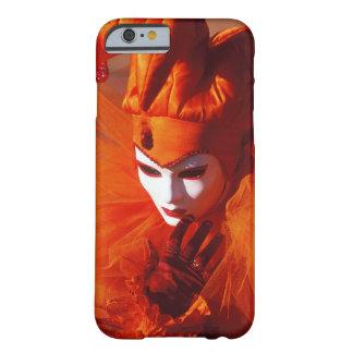 Capa Barely There Para iPhone 6 Veneza, Italia (IT) - traje alaranjado do carnaval