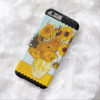 Capa Barely There Para iPhone 6 Vincent van Gogh o vaso aumentou floral