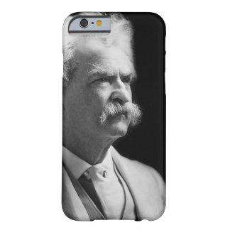 Capa Barely There Para iPhone 6 Vintage Mark Twain icónico preto e branco