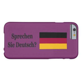 Capa Barely There Para iPhone 6 Você fala o alemão? no alemão. FB da bandeira