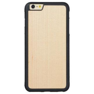 Capa Bumper Para iPhone 6 Plus De Bordo, Carved iPhone abundante de madeira 6/6s mais o caso