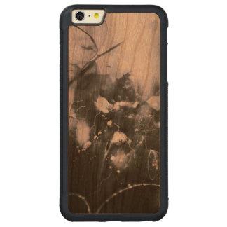 CAPA BUMPER PARA iPhone 6 PLUS DE CEREJEIRA CARVED