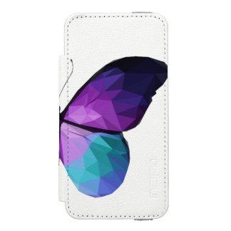 Capa Carteira Incipio Watson™ Para iPhone 5 Caixa da carteira do telefone da borboleta