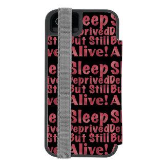 Capa Carteira Incipio Watson™ Para iPhone 5 Sono destituído mas ainda vivo na framboesa