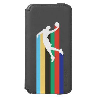 Capa Carteira Incipio Watson™ Para iPhone 6 Capas de iphone da carteira de NBA de Russel