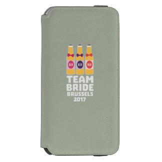 Capa Carteira Incipio Watson™ Para iPhone 6 Noiva Bruxelas da equipe 2017 Zfo9l