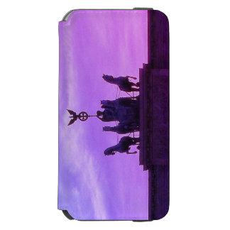 Capa Carteira Incipio Watson™ Para iPhone 6 Porta de Brandemburgo 003,0 do Quadriga, Berlim