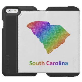 Capa Carteira Incipio Watson™ Para iPhone 6 South Carolina