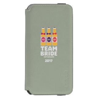 Capa Carteira Incipio Watson™ Para iPhone 6 Suiça da noiva da equipe 2017 Ztd9s