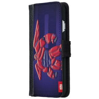Capa Carteira Para iPhone 6/6s Caixa da carteira de Iphone do pop art de Baymax
