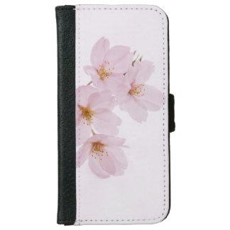 Capa Carteira Para iPhone 6/6s Flores de cerejeira bonitas do primavera em Tokyo