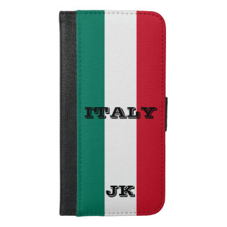 Capa Carteira Para iPhone 6/6s Plus Bandeira do italiano de Italia Italia