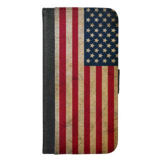 Capa Carteira Para iPhone 6/6s Plus Caixa positiva da carteira do iPhone 6 da bandeira