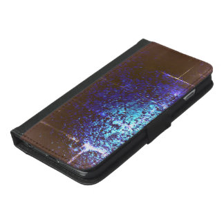 Capa Carteira Para iPhone 6/6s Plus Cristal de gelo
