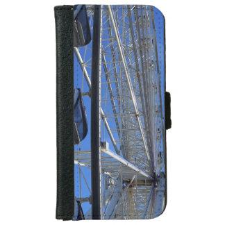 Capa Carteira Para iPhone 6/6s Roda da montanha de grande enfumaçado