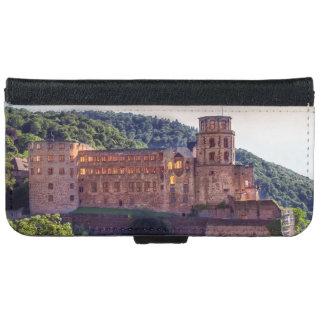Capa Carteira Para iPhone 6/6s Ruínas famosas do castelo, Heidelberg, Alemanha