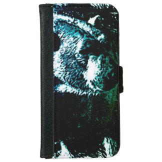 Capa Carteira Para iPhone 6/6s Urso polar ártico dos animais selvagens da região