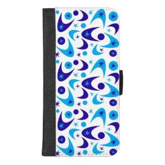 Capa Carteira Para iPhone 8/7 Plus Bumerangues retros customizáveis