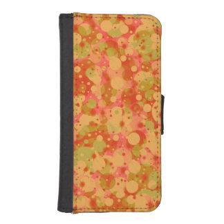 Capa Carteira Para iPhone SE/5/5s A celebração pontilha a caixa da carteira de