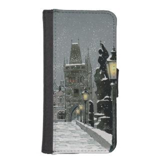 Capa Carteira Para iPhone SE/5/5s Caixa da carteira do iPhone 5/5S da ponte de