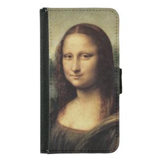 Capa Carteira Para Samsung Galaxy S5 Mona Lisa em detalhe por Leonardo da Vinci