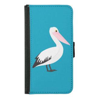 Capa Carteira Para Samsung Galaxy S5 Pelicano