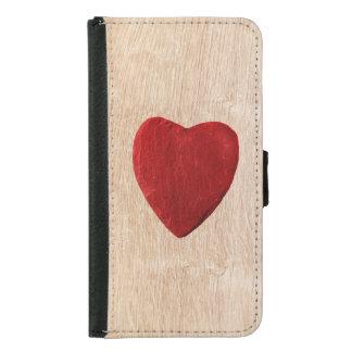 Capa Carteira Para Samsung Galaxy S5 Samsung Galaxy S5 pano de fundo de madeira com