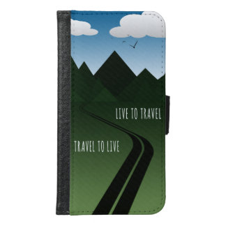 Capa Carteira Para Samsung Galaxy S6 Estrada da montanha