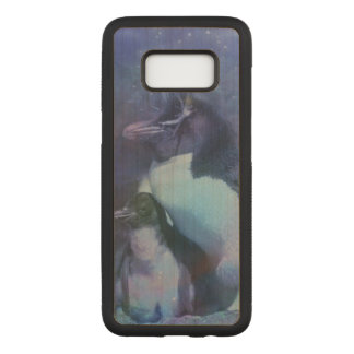 Capa Carved Para Samsung Galaxy S8 Pinguins engraçados nos smoking