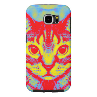 Capa Case-Mate para Galaxy S6 Psychedelic Cat